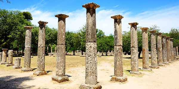The Palestra at Ancient Olympia