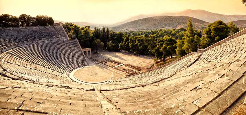 The ancient theater of Epidavros