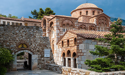The monastery of Hosios Loukas
